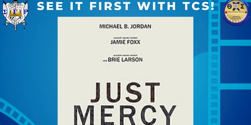 Theta Chi Sigma Alumnae Chapter Presents - JUST MERCY Movie Fundraiser