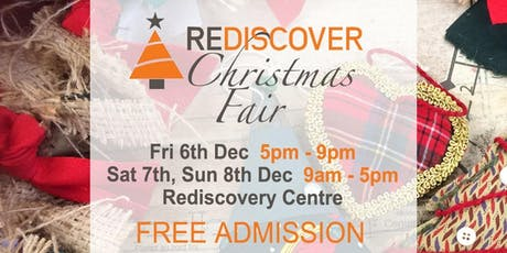 Rediscover Christmas Fair tickets