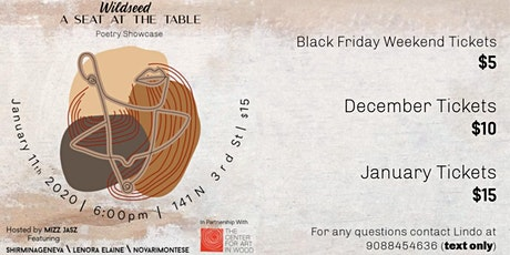 Wildseed: A Seat At The Table tickets