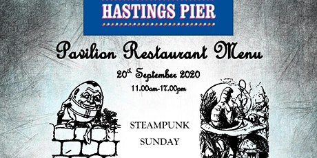 Steampunk Sunday Pavilion Restaurant tickets