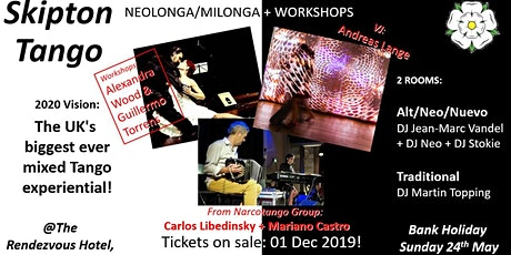 SkiptonTango's  2020 Neolonga Experiential & Milonga tickets