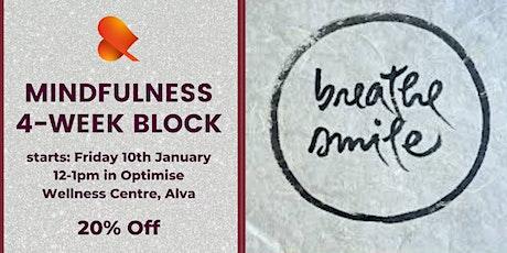 Mindfulness 4-Week Block - Alva - Individual Sessions tickets