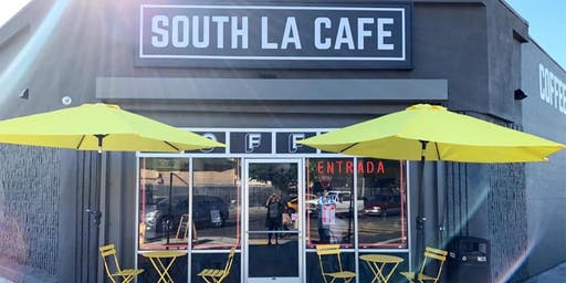 Community Party for South LA Cafe Grand Opening