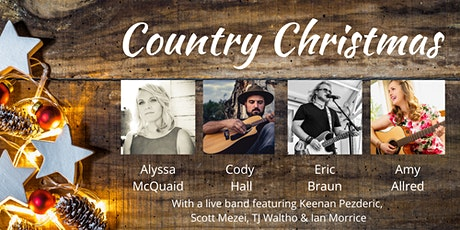 Country Christmas tickets