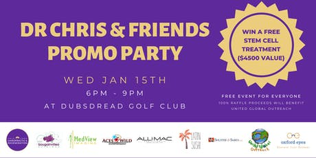 Dr. Chris & Friends Promo Party! tickets