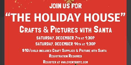 Holiday Crafts with Santa tickets