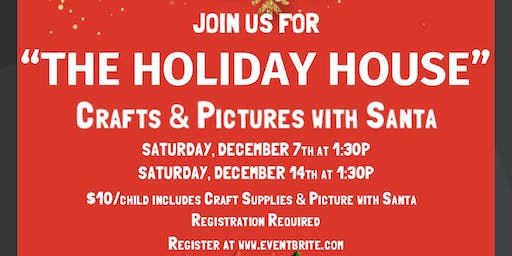 Holiday Crafts with Santa