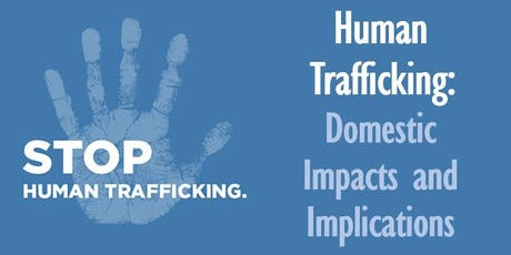 Think & Drink | Human Trafficking: Domestic Impacts and Implications tickets