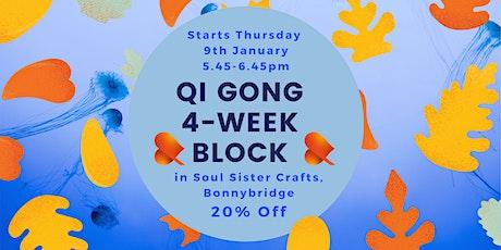Qi Gong - 4-Week Block - Bonnybridge - Individual Sessions tickets