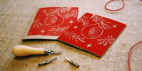 Christmas Lino Printing Workshop / Gweithdy Argraffu Leino'r Nadolig tickets