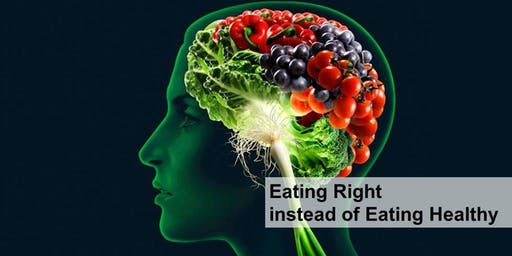 Eating Right Instead Of Eating Healthy
