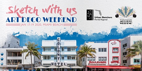 2020 USk Florida Regional ART DECO Weekend Sketchw tickets
