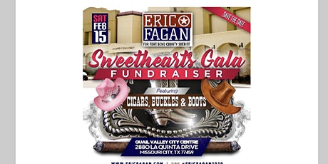 Sweethearts Gala featuring Cigars, Buckles & Boots tickets