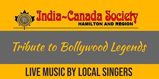 A Tribute to Bollywood Legends:  A Musical Night