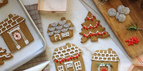 Drink and Decorate: Gingerbread House Cookies tickets