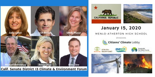 California Senate District 13 Climate and Environment Forum