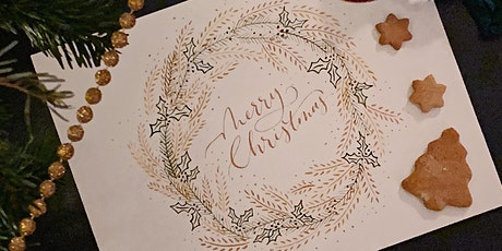 Christmas Calligraphy tickets
