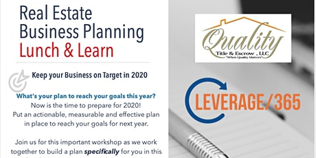 Real Estate Business Planning: Clarity Action Plan for 2020 tickets