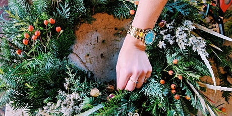 Wreath Making Workshop at Temple Cycles tickets