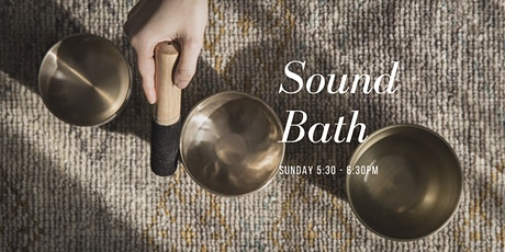 Soothing Sound Bath tickets