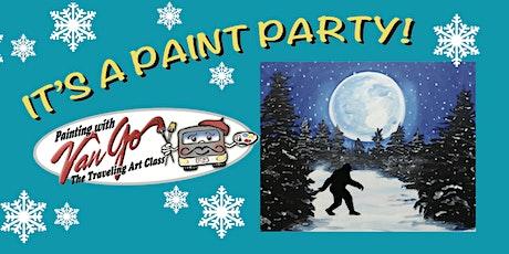Moonlight Sasquatch Paint Party tickets