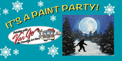 Moonlight Sasquatch Paint Party
