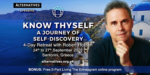 Know Thyself - A Journey of Self Discovery - Santorini - Dollars