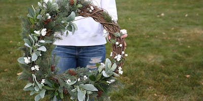 Farmhouse Wreath Making Class