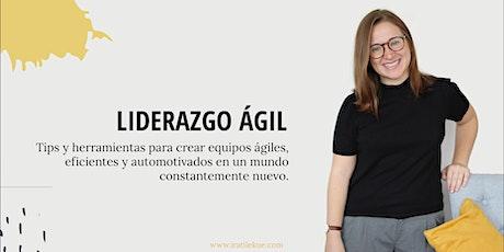 Presentación del libro Liderazgo Ágil; Tips y herramientas para crear eq... entradas