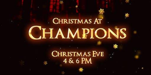 Christmas At Champions 2019