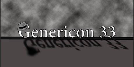 Genericon XXXIII tickets