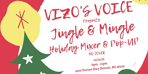 Jingle & Mingle Open Mic and Holiday Market Pop-Up