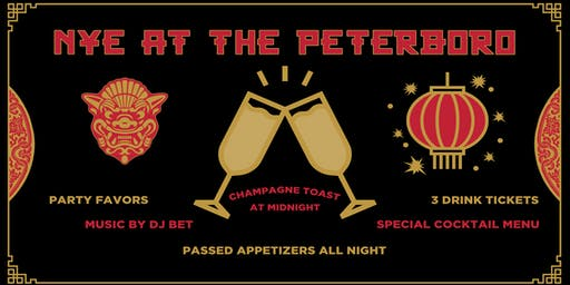 New Year's Eve at The Peterboro