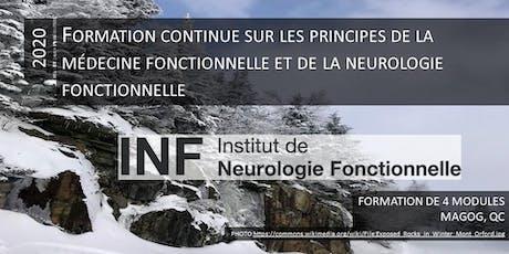 Formation continue sur les principes de la médecine fonctionnelle et de la neurologie fonctionnelle  billets