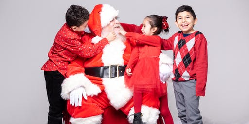 Family Portraits & Cookies with Santa at Northern Lights Photo Studio