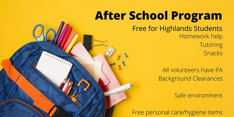 Free After School Program tickets