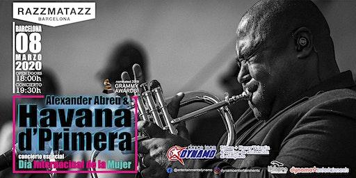 HAVANA D'PRIMERA en concierto, especial Dia Internacional de la Mujer