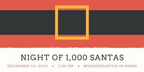 Night of 1,000 Santas tickets