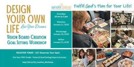 Christian Vision Board Creation & Goal Setting Workshop tickets