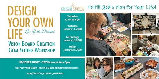 Christian Vision Board Creation & Goal Setting Workshop