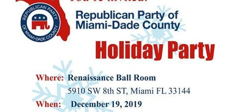 Miami GOP Holiday Dinner tickets