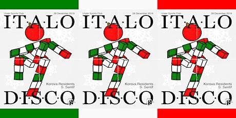Korova presents: Italo Disco Christmas Party tickets