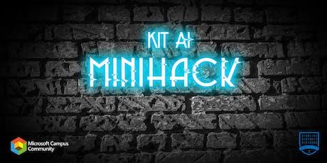 KIT AI Minihack billets