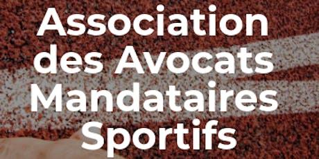 Assemblée Générale Association des Avocats Mandataires Sportifs billets