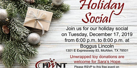 HWNT-RGV Holiday Social 2019 tickets
