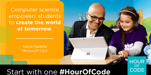 CS Education Week - Learn to code workshop