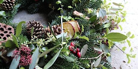 Luxury Wreath Making Workshop  tickets
