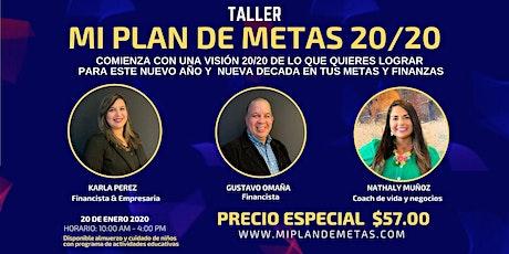 MI PLAN DE METAS 20/20 tickets