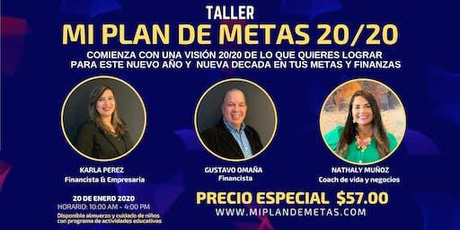 MI PLAN DE METAS 20/20