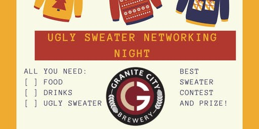 Ugly Sweater Networking Night